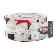 "Bramble - Jelly Roll by Goingiber for Moda Fabrics - 40 x 2.5"" Fabric Strips"